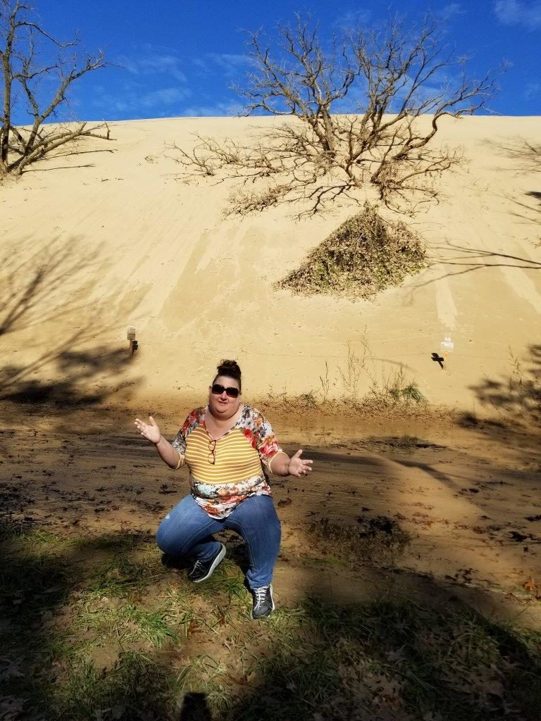 Brandee at the Sand Dunes