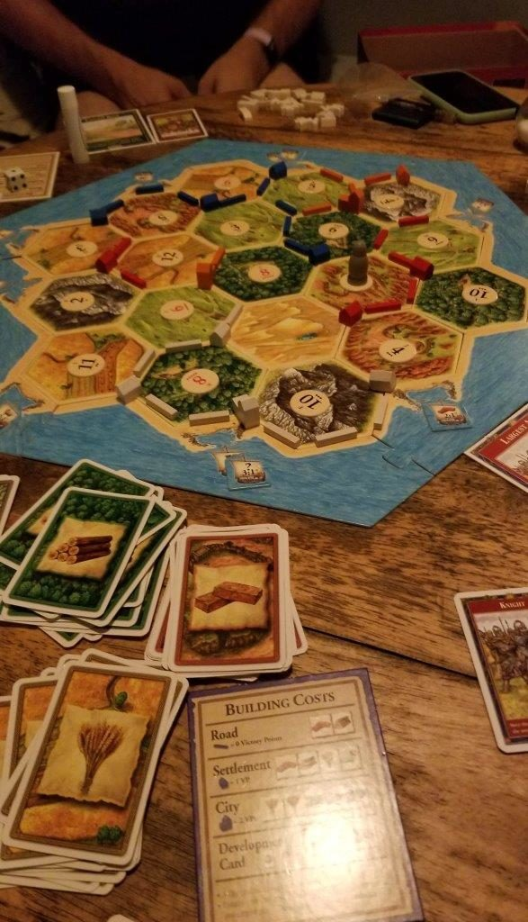 Picture of Catan Game
