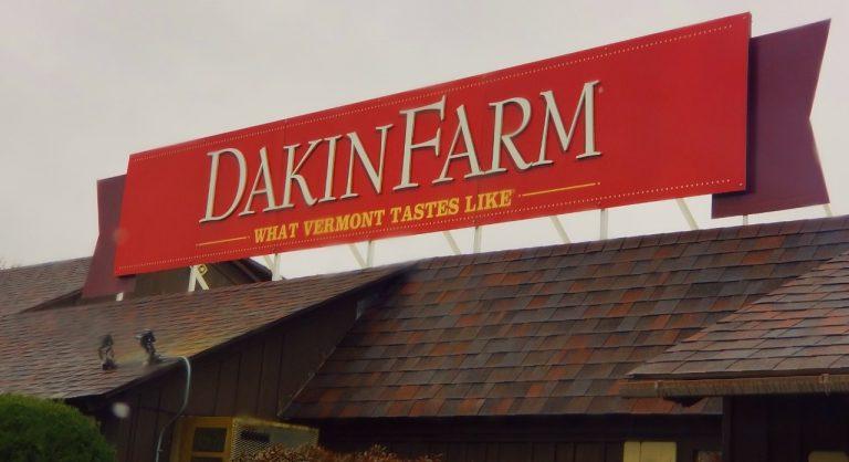 Dakin Farm Sign