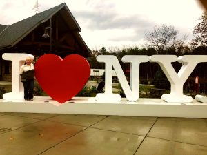 I heart New York Sign