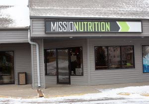Mission Nutrition Sign