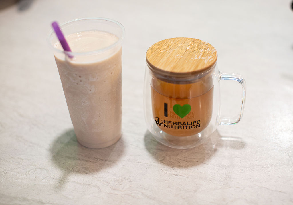 Herbalife Shake and Tea at Mission Nutrition