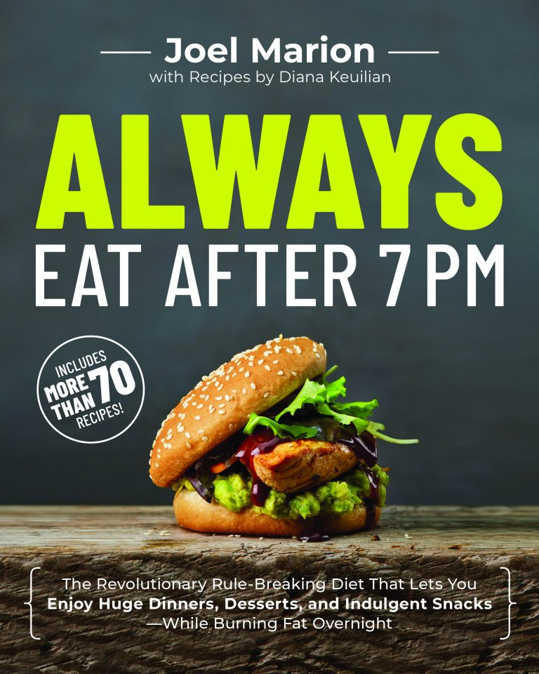 Always eat after 7pm book cover