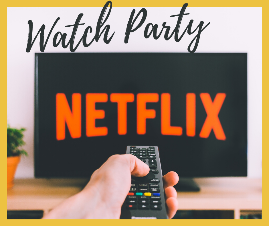 TV with word NETFLIX