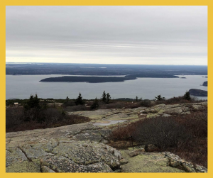 View from the top of Cadillac Mountain