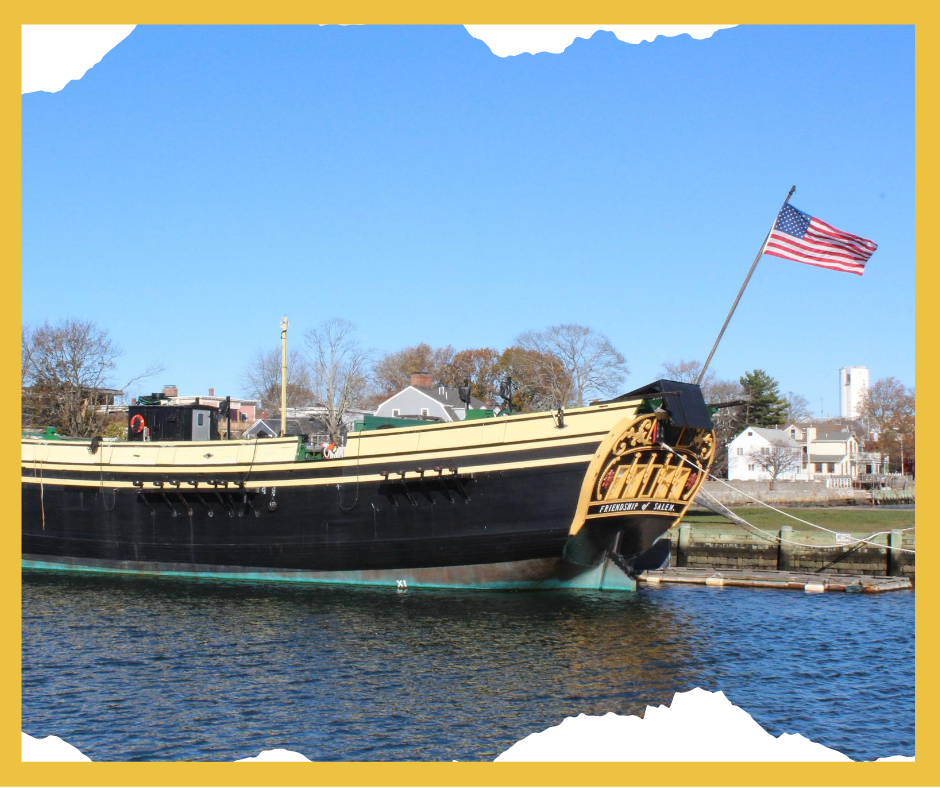 Ship at the Salem Maritime Historic Site