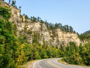 Spearfish Canyon landscape